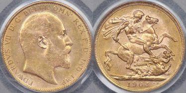 1903 Melbourne Sovereign