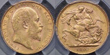 1903 Perth Sovereign