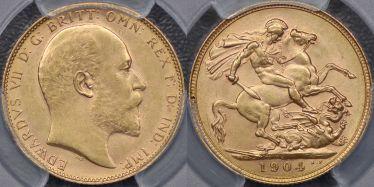 1904 Perth Sovereign