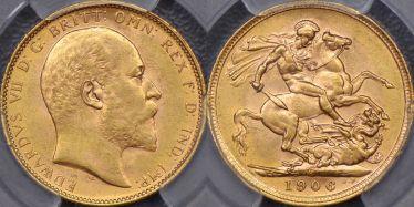 1906 Melbourne Sovereign