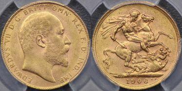 1906 Perth Sovereign
