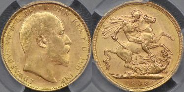 1908 Melbourne Sovereign