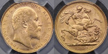 1909 Melbourne Sovereign