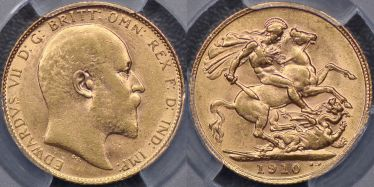 1910 Sovereign