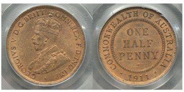 1911 Halfpenny