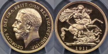 1911 Proof Two Pound