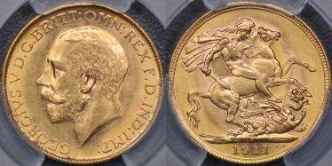 1911 Melbourne Sovereign