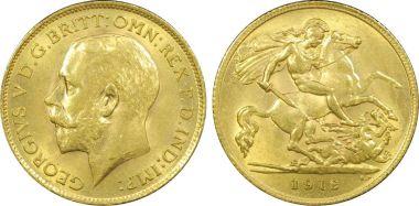 1912 Half Sovereign