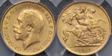1912 Half Sovereign