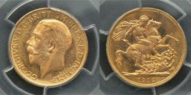 1912 Melbourne Sovereign