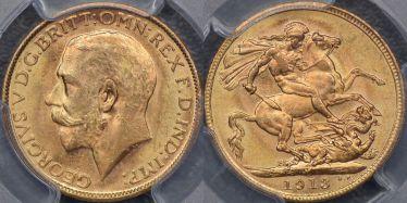 1913 Melbourne Sovereign