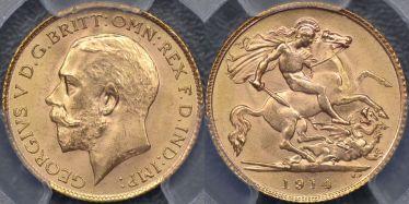 1914 Half Sovereign
