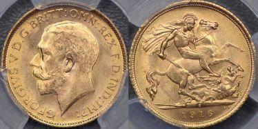 1916 Sydney Half Sovereign