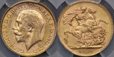 1924 Melbourne Sovereign