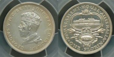 1927 Proof Canberra Florin