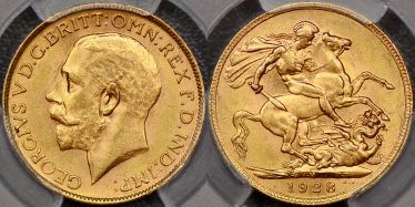 1928 Melbourne Sovereign