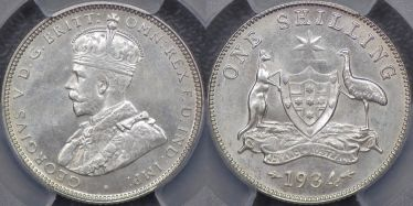 1934 Shilling