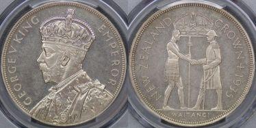 1935 Waitangi Crown