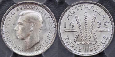 1939 Threepence