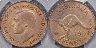1941 Perth KG Penny
