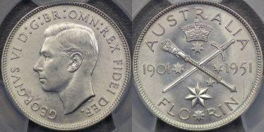 1951 Jubilee Florin