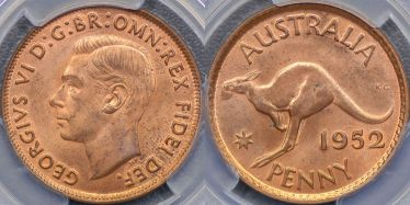 1952 Melbourne Penny