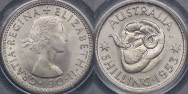 1953 Shilling