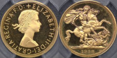 1958 Proof Sovereign