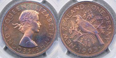 1963 VIP Proof Penny