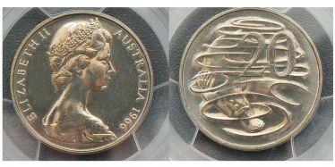 1966 Canberra Twenty Cent