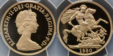 1980 Proof Two Pound