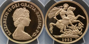 1982 Proof Two Pound