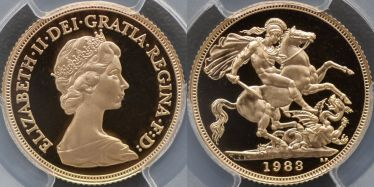 1983 Proof Sovereign