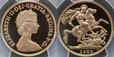 1983 Proof Two Pound