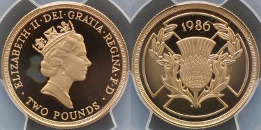 1986 Two Pound Commonwealth Games