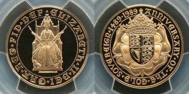 1989 Tudor Rose Two Pound
