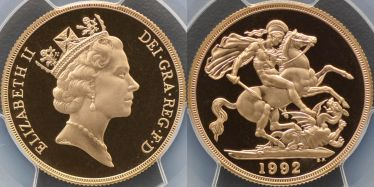 1992 Proof Two Pound