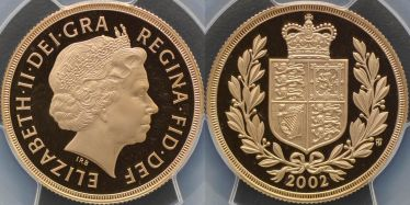 2002 Proof Two Pound