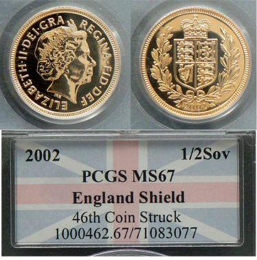 2002 Half Sovereign