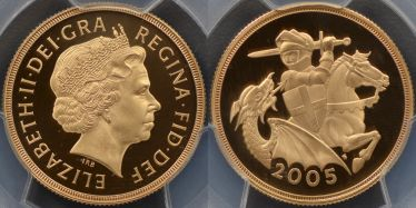 2005 Proof Two Pound