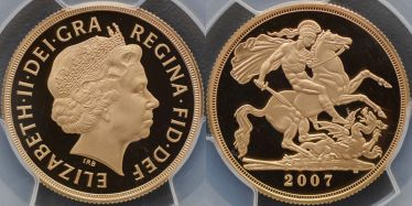 2007 Proof Two Pound