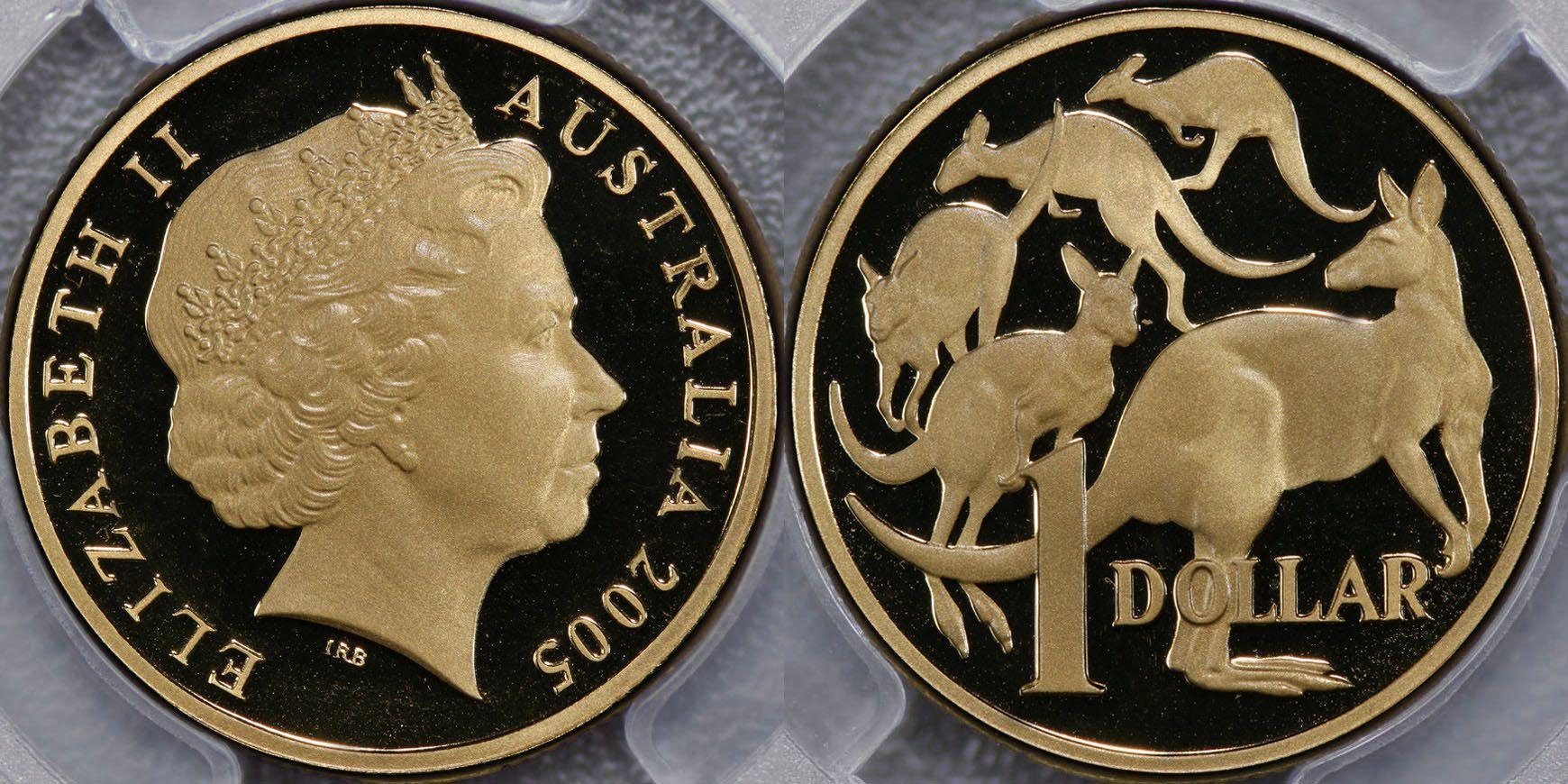 2005 one dollar mule