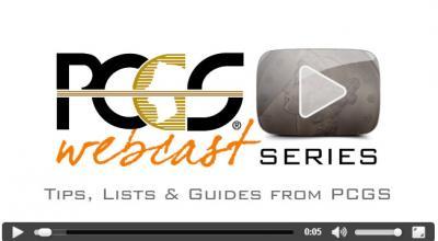 Free PCGS grading videos
