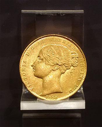 1856 Sydney Mint sovereign