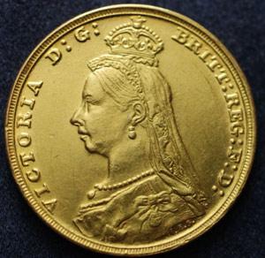 1897S Fake Sovereign