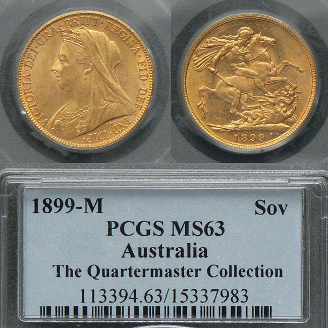 1899M Sovereign