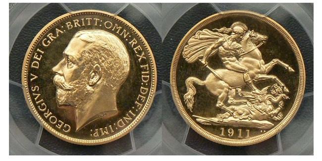 1911 two pound cameo