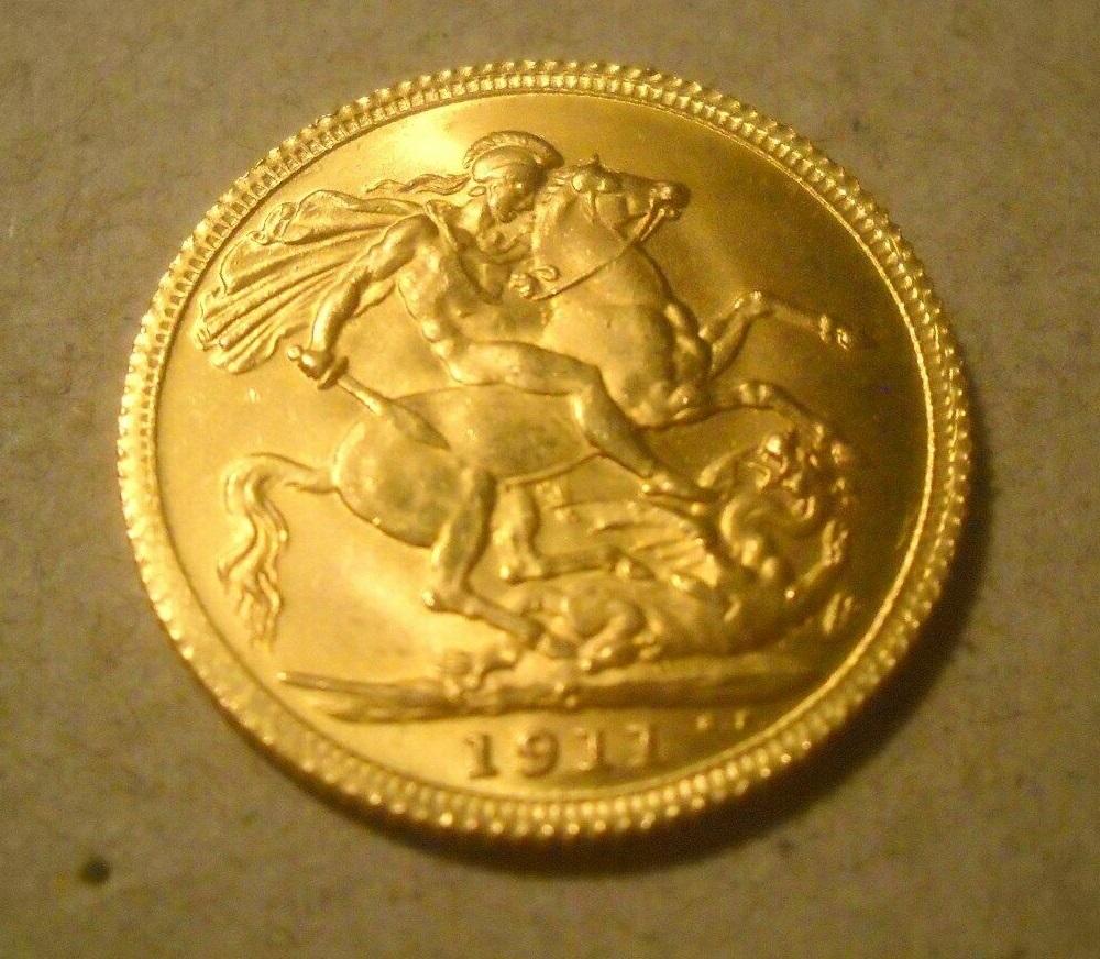 1911 fake sovereign