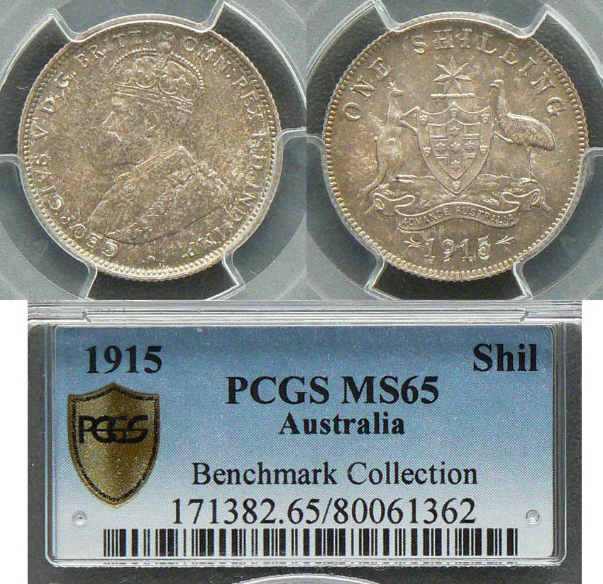 1915 shilling Benchmark