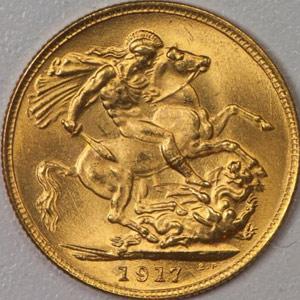 1917 Fake Sovereign